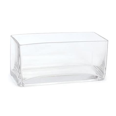 rectangular glass vase rectangle glass vase