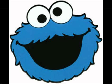 cookie monster face template www imgkid com the image