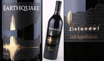 earthquake zinfandel earthquake zinfandel wine review cheapwineratings com