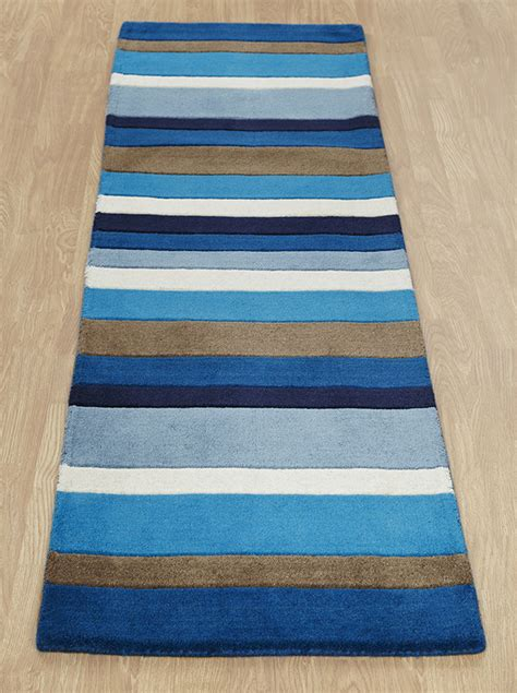 Jazz Rug by Jazz Stripes Blue Rugs Buy Stripes Blue Rugs From
