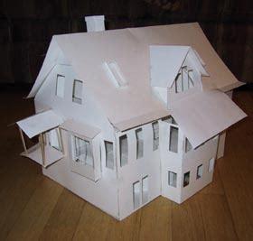 building architectural models  house models