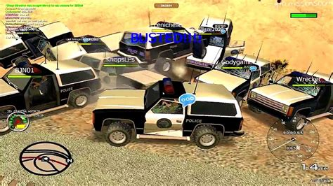 busted mp mta pc online multiplayer busted races deathmatch