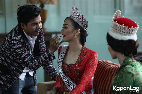 Make Up Tien Santoso jadi puteri indonesia kezia roslin siapkan aplikasi