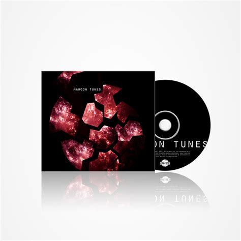 design record cover maroon tunes album cover design by morganobrienart on