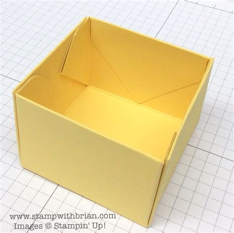 Peep Peep A Peeps Box Tutorial Stamp With Brian Open Box Template