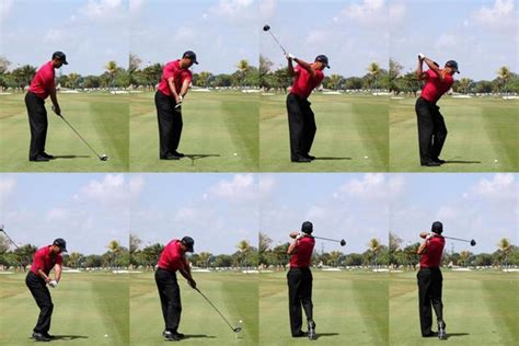 tiger wood golf swing the best that they can be or is there room for
