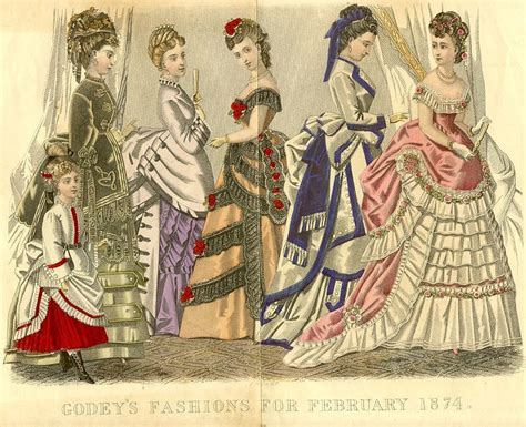 era victoriana fashion plates 1840 1880