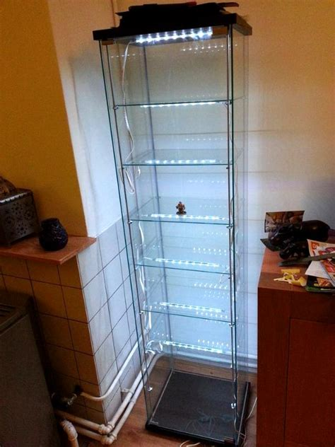 Display Cabinet Lighting Fixtures Aessedai S Guide To Building A Custom Glass Display For Your Figures Forum Dakkadakka