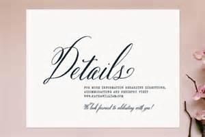 Letter Accompanying Wedding Invitation Wedding Invitations Lettering Studio