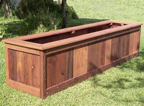 Redwood Planter Box Plans by Pdf Diy Redwood Planter Box Plans Rocking