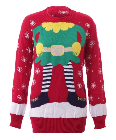Unisex Kids Ladies Popular Christmas Cable Knitted Jumpers Light Up Jumpers For