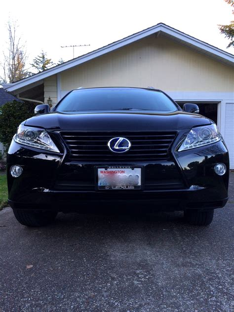 lexus rx blacked out rx450h being green and badass all at the same