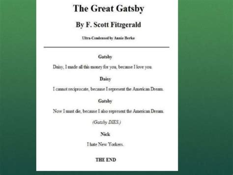 theme of pride in the great gatsby elit 48 c class 7 post qhq peak peek and pique