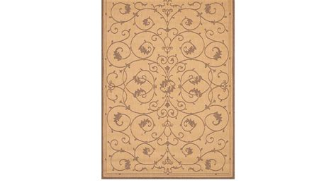 5 x 7 indoor outdoor rug marcialla beige 5 3 x 7 6 indoor outdoor rug