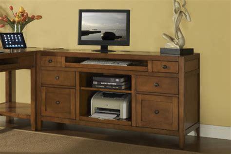 Printer Credenza companion credenza desk with printer pull out modern home office accessories