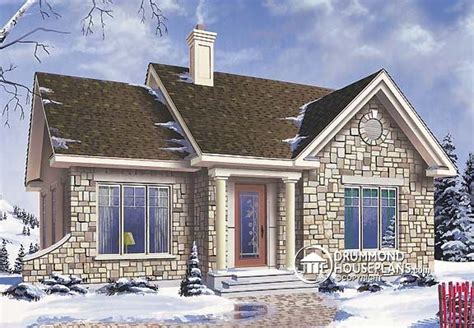Small Brick Home House Plans Plan Of The Week Quot Small In Size But Big In Style