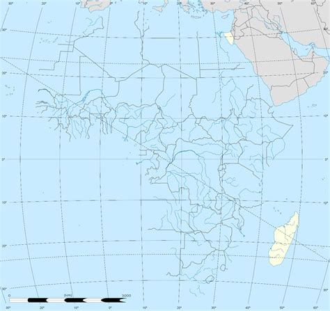 africa map location map of africa april 2017