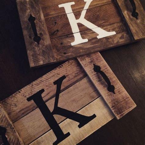 wood tray diy rustic wood tray wooden tray pallet tray pallet por