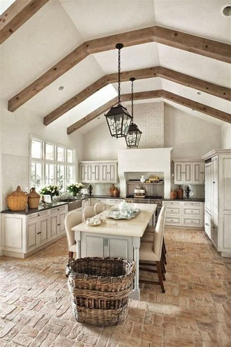 brick floor kitchen 30 practical and cool looking kitchen flooring ideas