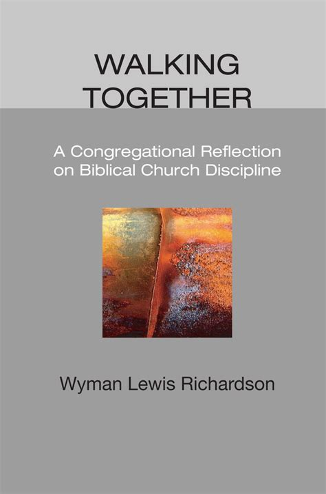 church discipline medicine for the 9marks journal books book review walking together a congregational reflection