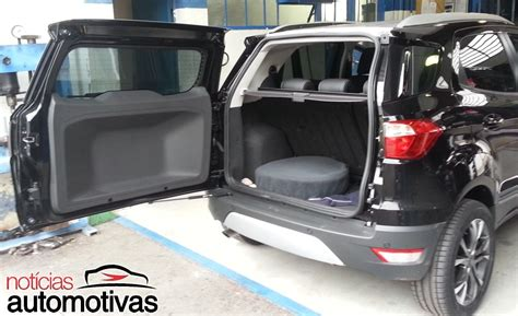 ecosport interior modified ford ecosport brazil modified tailgate open indian autos
