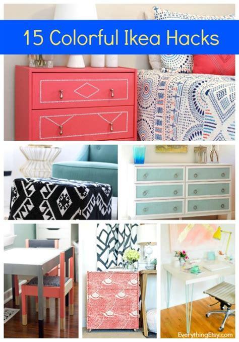 15 Ikea Hacks Colorful And Chic Diy Ideas   15 ikea hacks colorful and chic diy ideas everythingetsy com