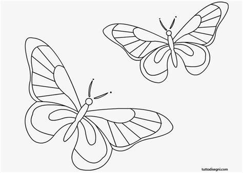 farfalle e fiori da colorare disegni di fiori e farfalle da colorare