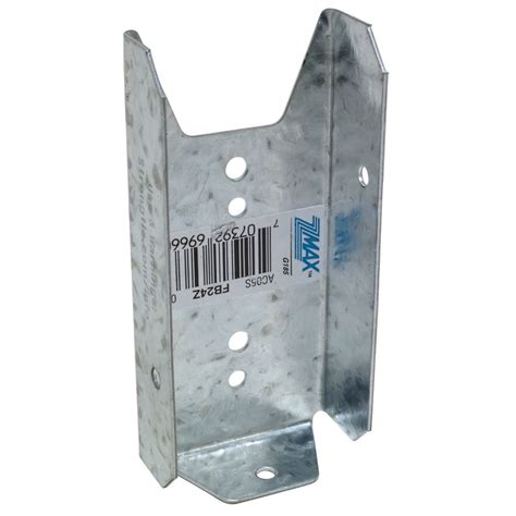 hdx fence bracket 2 inch x 4 inch the home depot canada