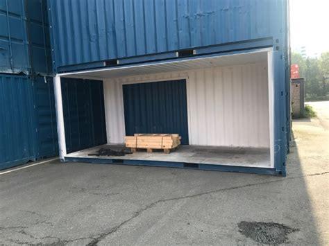 gebrauchte carports kaufen seecontainer mit teilausschnitt carport garage usw