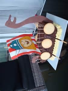 kuchen schiff geburtstag kinder 187 wikingerschiff und torte