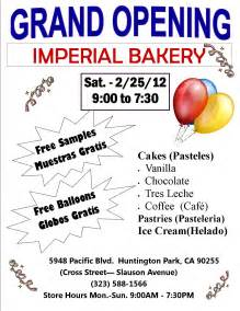 imperial bakery