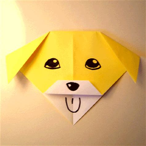 origami puppy origami talking