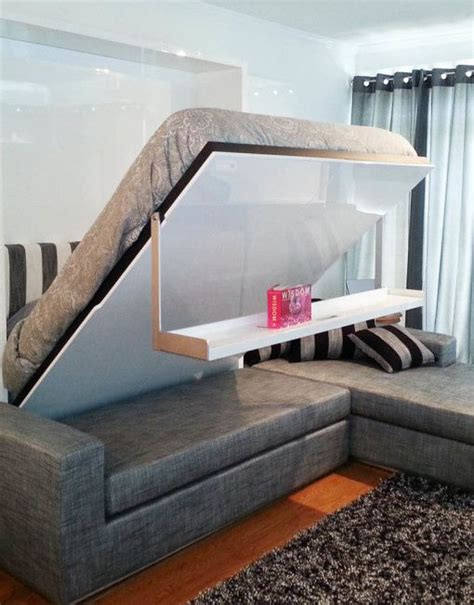 Bed That Folds Into Wall 25 Best Ideas About Wall Beds On Murphy Beds