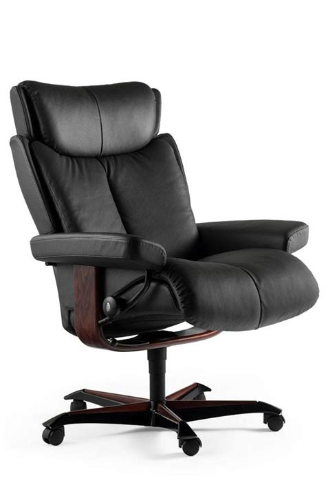 fauteuil de bureau stressless fauteuil de bureau home office stressless 174 magic grand