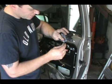 gmc chevy door lock actuator window fix youtube