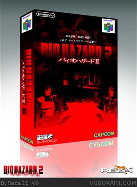 biohazard  nintendo  box art cover  reza
