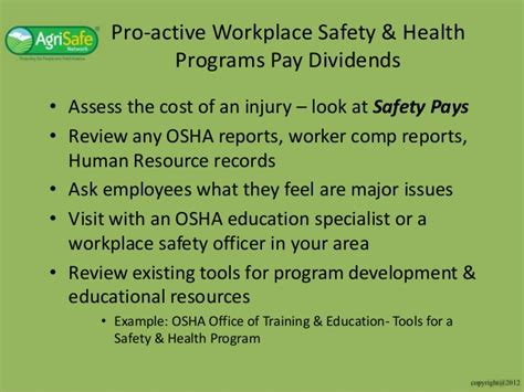 Physical Assessment And Wellness Programs By Osha Osha Hearing Conservation Program Template