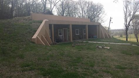 built into the hill and tornado proof in oklahoma