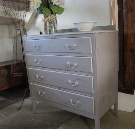 Chic Chest Of Drawers by Vintage Shabbie Chic Chest Of Drawers Grey Vintage Forever