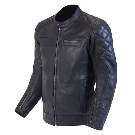 Francesco Leather Motorcycle Jacket Sedici