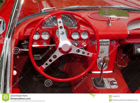 corvette dashboard corvette dashboard royalty free stock images image 14408719
