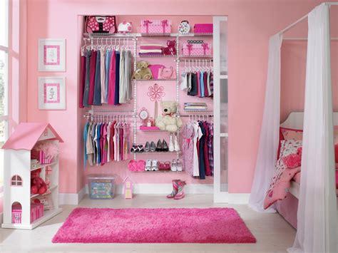 Pink Closet by Plan A Small Space Nursery Hgtv