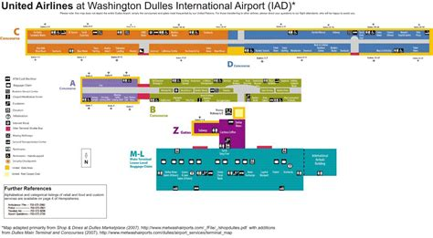 iad airport map image gallery iad airport map