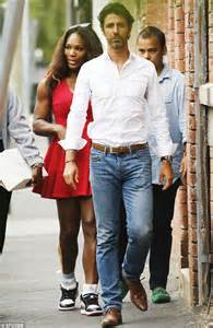 On her day out by her tennis coach and boyfriend patrick mouratoglou