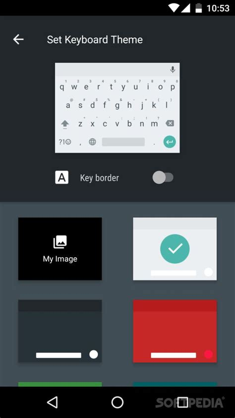 themes for android unite 2 google keyboard 5 1 comes with themes in android n