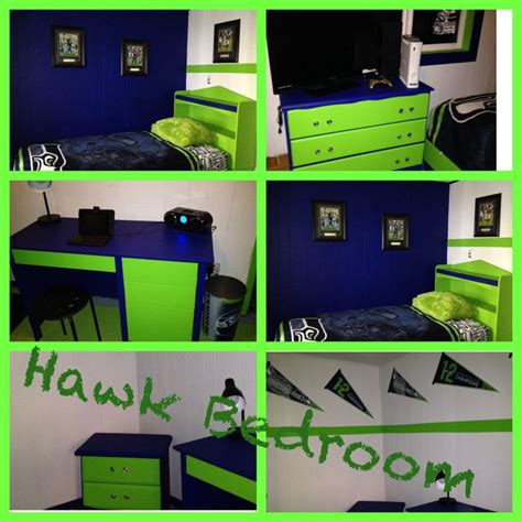 seahawks bedroom 31 best images about boy s room on pinterest paint