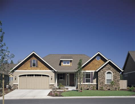 Craftsman House Plan with 2 Bedrooms and 2.5 Baths   Plan 4582