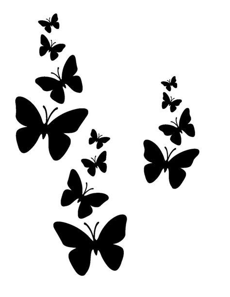 Butterfly Stencil Template 9 best stencils images on butterflies