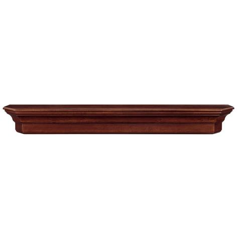 the lindon 4 ft cherry distressed cap shelf mantel 490 48