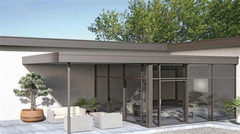 verande finstral finstral verande balconi a vetro e vetrate per tetto